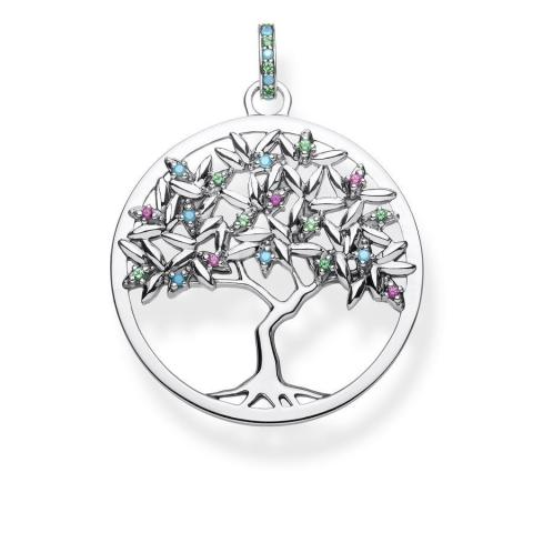 Thomas Sabo Anhänger Glam and Soul Tree of Love PE826 348 7